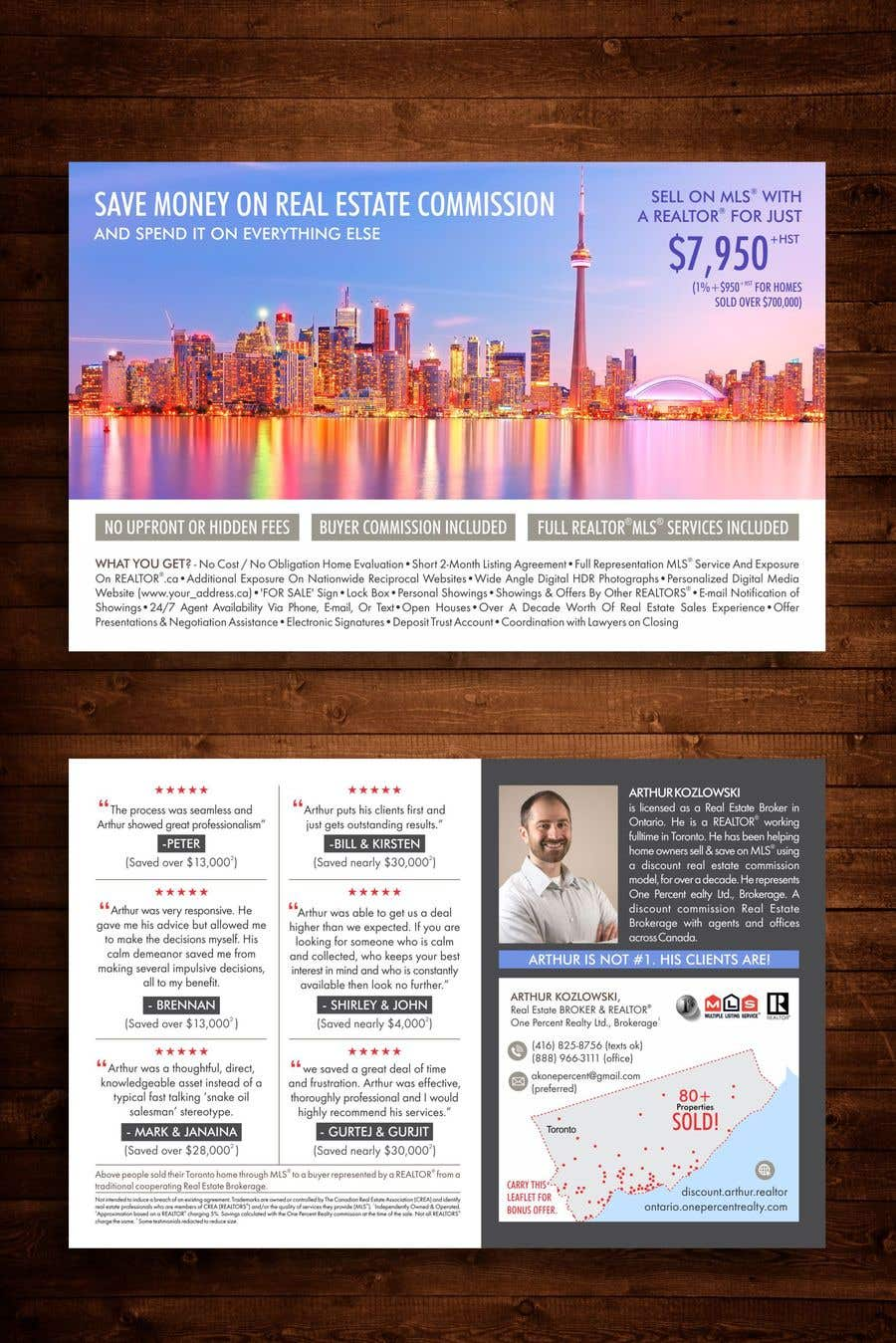 entry 60 by creativecrackers for design a real estate flyer