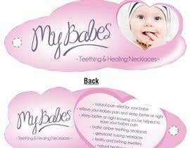 #49 dla Print & Packaging Design for My Babes Teething & Healing Necklaces przez quinncy69