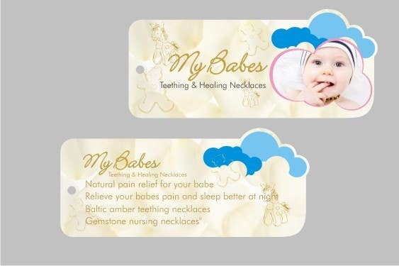 Proposition n°57 du concours Print & Packaging Design for My Babes Teething & Healing Necklaces