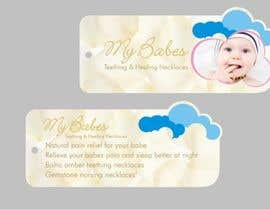 #43 for Print & Packaging Design for My Babes Teething & Healing Necklaces by Desry