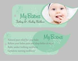 nº 55 pour Print & Packaging Design for My Babes Teething & Healing Necklaces par Desry
