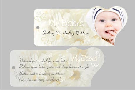 Contest Entry #44 for Print & Packaging Design for My Babes Teething & Healing Necklaces