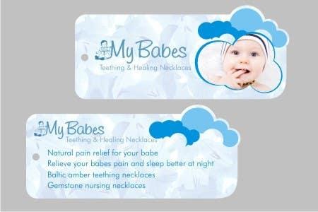 Конкурсная заявка №                                        42                                      для                                         Print & Packaging Design for My Babes Teething & Healing Necklaces