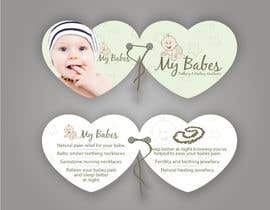 #69 dla Print & Packaging Design for My Babes Teething & Healing Necklaces przez imaginativeGFX