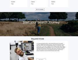 #4 untuk Homepage Website Mock oleh gauravdesigns1