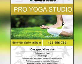 #14 for Design a Flyer _ for yoga institute by RaisulDesignes