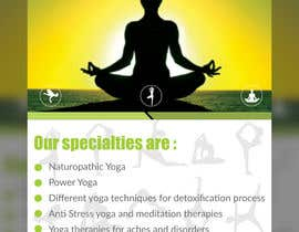 #18 for Design a Flyer _ for yoga institute by Sudebmondal3