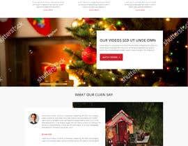 #23 for Website Mockup for Christmas Livestream site af yasirmehmood490