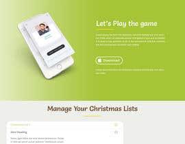 #18 for Website Mockup for Christmas Livestream site af IntelligentAppSl
