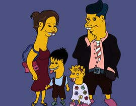 #10 for Simpsons Family Drawing - Family of 4 af farkasbenj