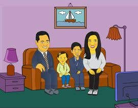 #12 for Simpsons Family Drawing - Family of 4 af alfannan