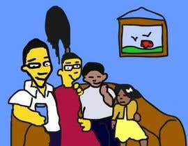 #5 for Simpsons Family Drawing - Family of 4 af flashmakeit