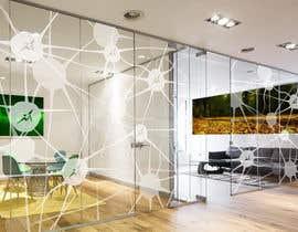 Nro 51 kilpailuun Branded frosted Glass vinyl design for glass doors/glass walls for business käyttäjältä JimPen
