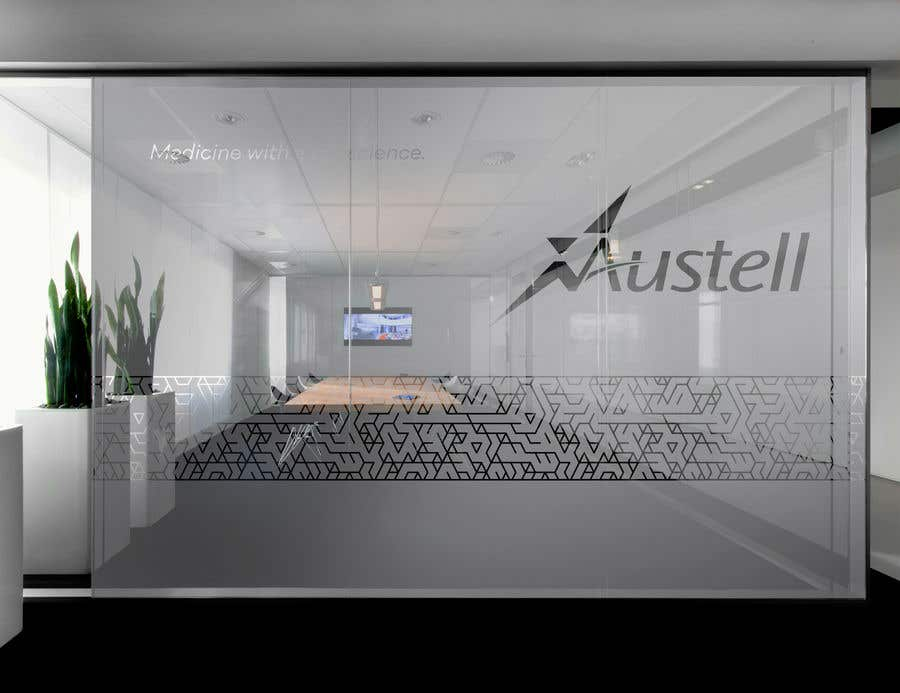Entry 29 By Dezignway For Branded Frosted Glass Vinyl Design For