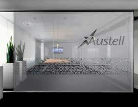 Nro 29 kilpailuun Branded frosted Glass vinyl design for glass doors/glass walls for business käyttäjältä DEZIGNWAY