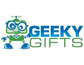 #173 para Logo Design for Geeky Gifts por egreener