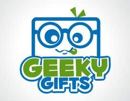 #77 para Logo Design for Geeky Gifts por egreener