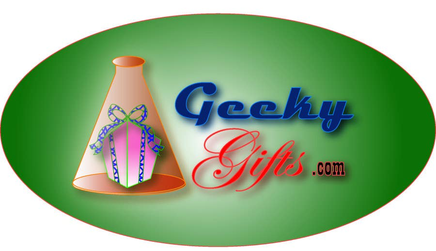 Contest Entry #                                        458                                      for                                         Logo Design for Geeky Gifts