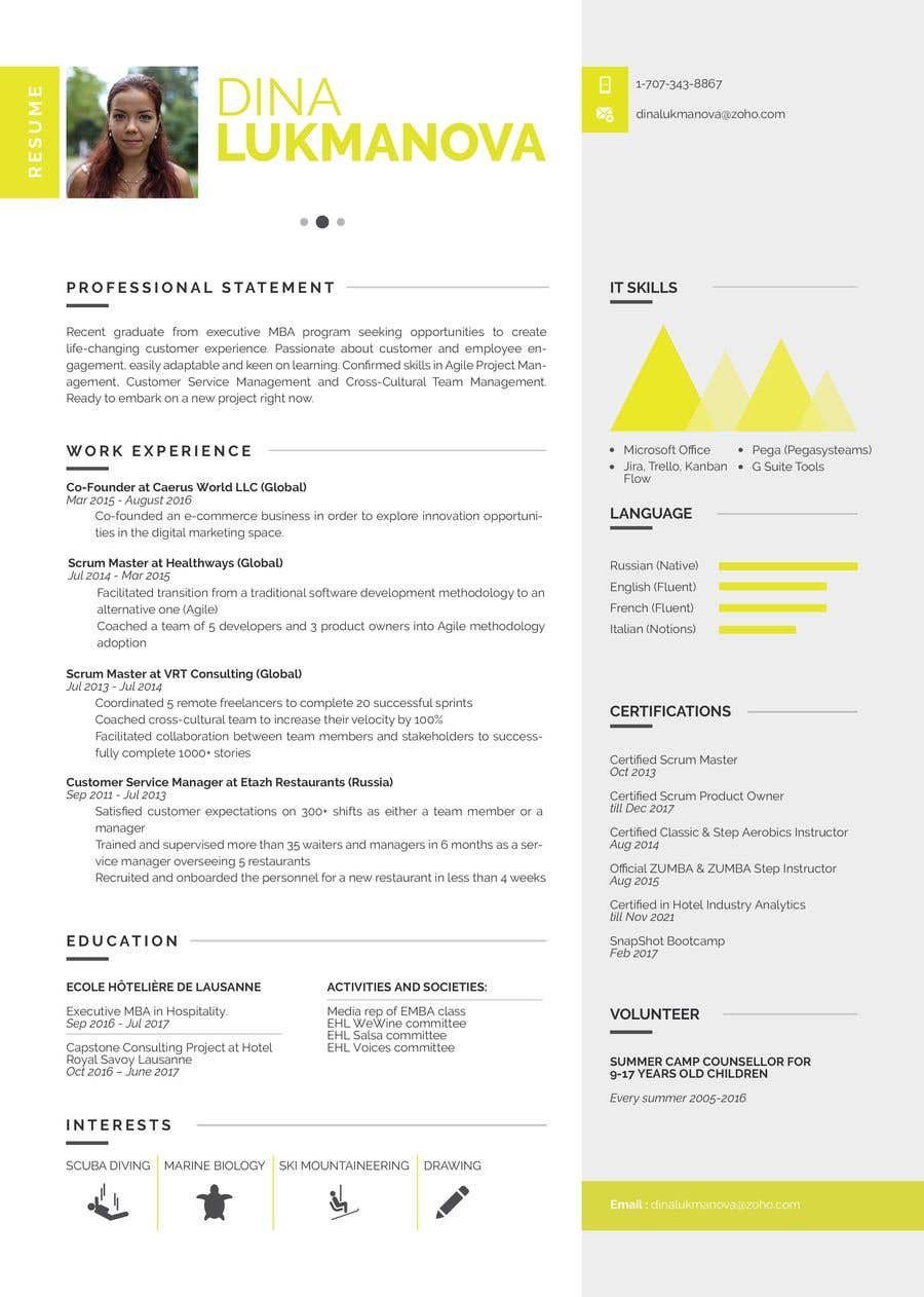 Entry 32 by dragosflorian for print design for my cv and business print design for my cv and business card reheart Image collections