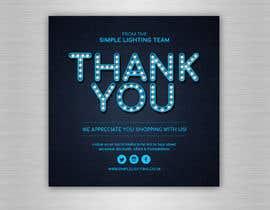 #50 для Thank you email banner від kreativedesizn