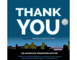 #87 для Thank you email banner від dreamdesigner123
