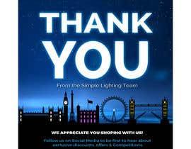 #99 для Thank you email banner від dreamdesigner123