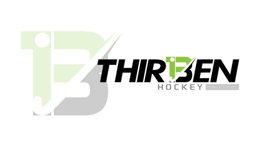 Kilpailutyö #                                        105                                      kilpailussa                                         Logo Design for Thirteen Hockey