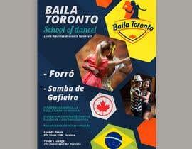 Nro 5 kilpailuun Flyer para escola de dança käyttäjältä PedroCorderoT