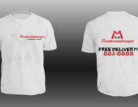 #9 untuk T-shirt Design for Mushroomburger Phils., Inc. oleh sarah07