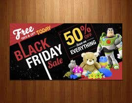 #121 for Banners for Black Friday by avizeet85