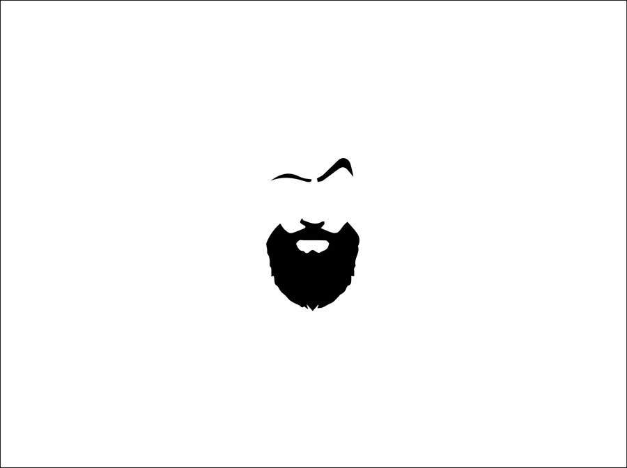 Contest Entry #8 for Head and beard logo