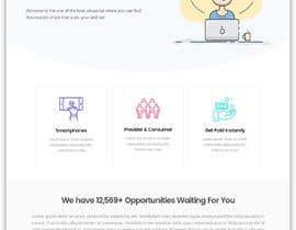 #13 for Landingpage for jobseekers af PixelBernie