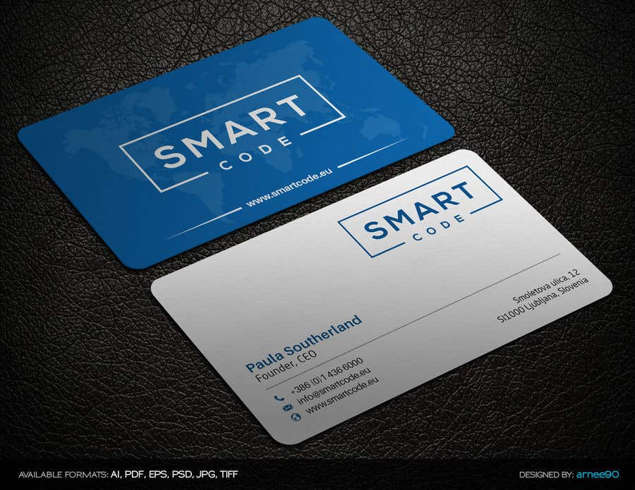 Entry #2 by arnee90 for Design some Business Cards for an IT company ...