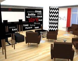 Nro 8 kilpailuun Cocktail Bar Interior Design käyttäjältä BonillaBlanca
