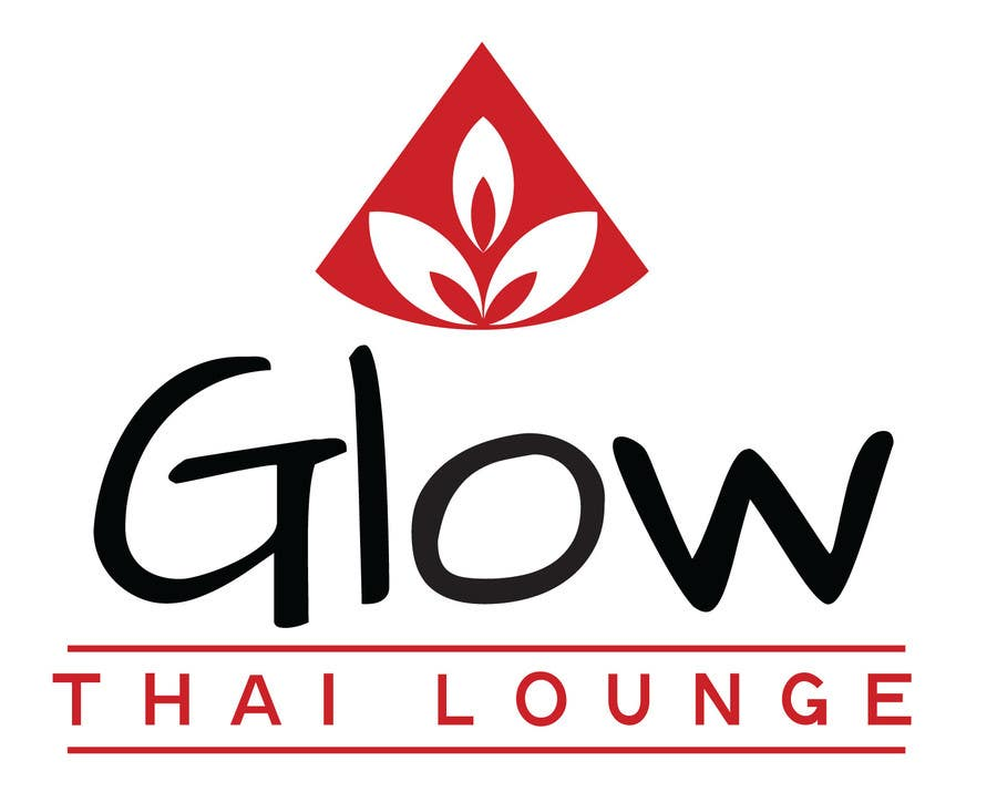 #42 for Logo Design for Glow Thai Lounge by JessicaWicks
