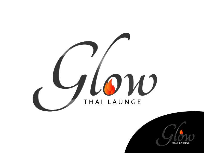 #333 for Logo Design for Glow Thai Lounge by jAR13