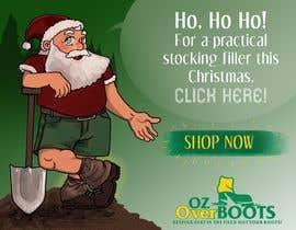 #10 para Santa in overboots for facebook ad. por marinasanc