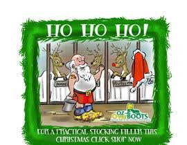 #9 para Santa in overboots for facebook ad. por ahkenatan