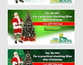 #8 para Santa in overboots for facebook ad. por ridwantjandra