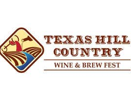 #37 para Logo Design for Texas Hill Country Wine & Brew Fest por danumdata