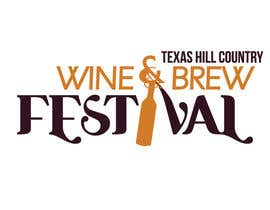 #82 para Logo Design for Texas Hill Country Wine & Brew Fest por vanessarusu