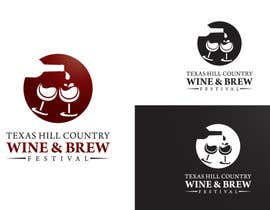 #72 untuk Logo Design for Texas Hill Country Wine & Brew Fest oleh BrandCreativ3
