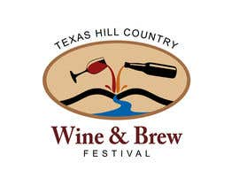 #73 para Logo Design for Texas Hill Country Wine & Brew Fest por smarttaste