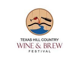 #42 para Logo Design for Texas Hill Country Wine & Brew Fest por smarttaste