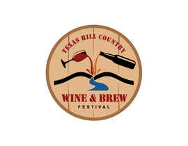 #43 para Logo Design for Texas Hill Country Wine & Brew Fest por smarttaste