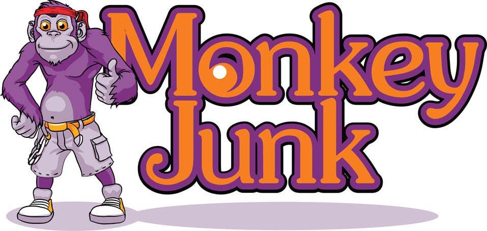 Proposition n°                                        68                                      du concours                                         Logo Design for Monkey Junk