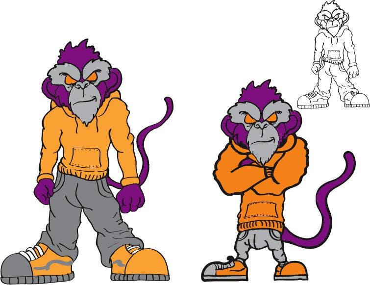 Конкурсная заявка №28 для Logo Design for Monkey Junk