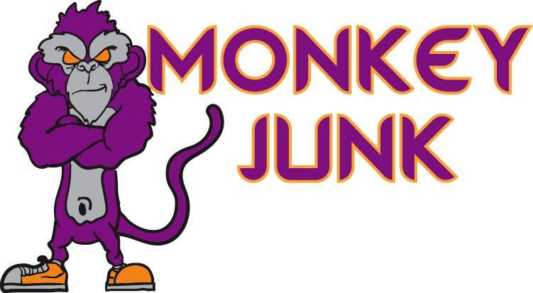 Proposition n°                                        17                                      du concours                                         Logo Design for Monkey Junk