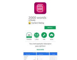 #71 for Design icons for my 1000 words google play project by empg
