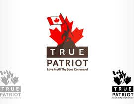 #136 for Logo Design for True Patriot af oscarhawkins